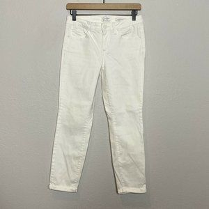 Jessica Simpson Mid Rise Rolled Crop Skinny Jeans